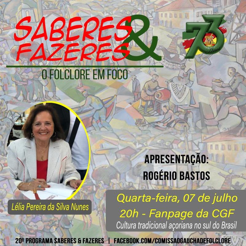 Saberes & Fazeres. Florianópolis apresentando a Cultura tradicional açoriana do Sul do Brasil