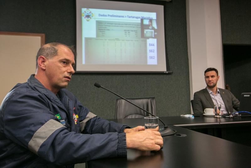 Coordenador do IAMB, Marcelo Assumpção Ulyssea, participou da reunião da comissão FOTO: Rodolfo Espínola/Agência AL